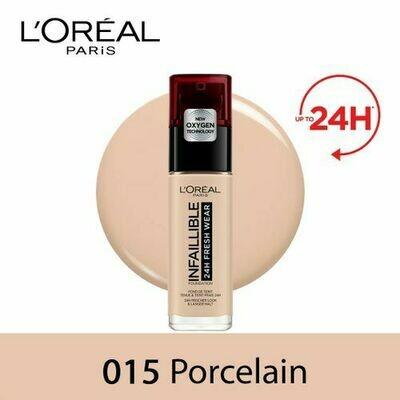 INFALLIBLE LIQUID FOUNDATION 24H 015 PORCELAINE/PORCEL