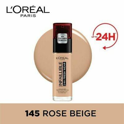 INFALLIBLE LIQUID FOUNDATION 24H 145 BEIGEROSE/ROSEBEI