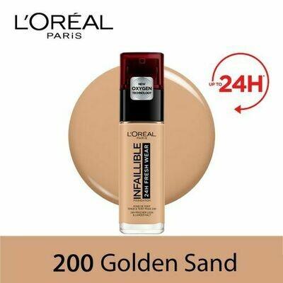 INFALLIBLE LIQUID FOUNDATION 24H 200 SABLEDORE/GOLDENS