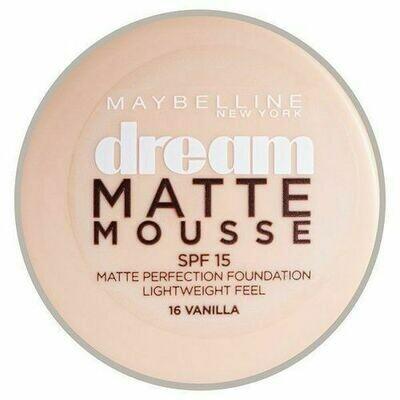 DREAM MATTE MOUSSE FOUNDATION MAT - 016