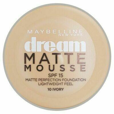 DREAM MATTE MOUSSE FOUNDATION MAT - 10