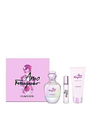 FERRAGAMO AMO FLOWERFUL FOR WOMEN SET EDT 100 ML+10 ML+B/L