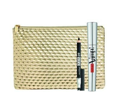 PUPA KIT MASCARA VAMP! + MINI-MULTIPLAY NO. 001 BLACK