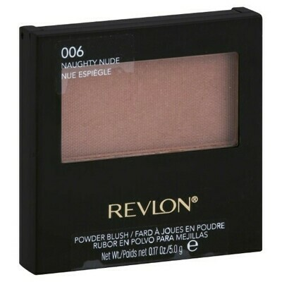 REVLON POWDER BLUSH NO. 6 NAUGHTY NUDE