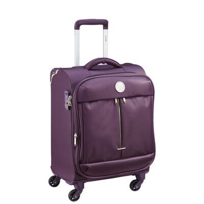 FLIGHT LITE 55 cm 4Wheel Expandable Cabin Trolley ZST purple
