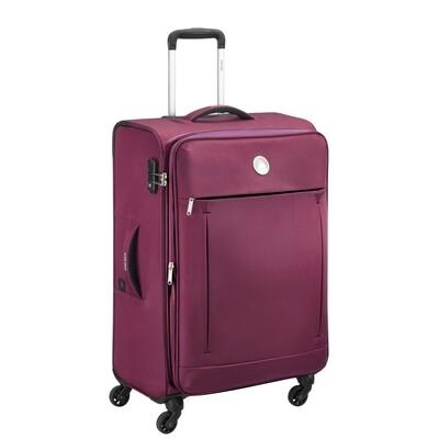 BANJUL 68 cm 4Wheel Trolley purple