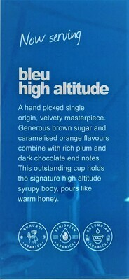 COMING SOON bleu high altitude