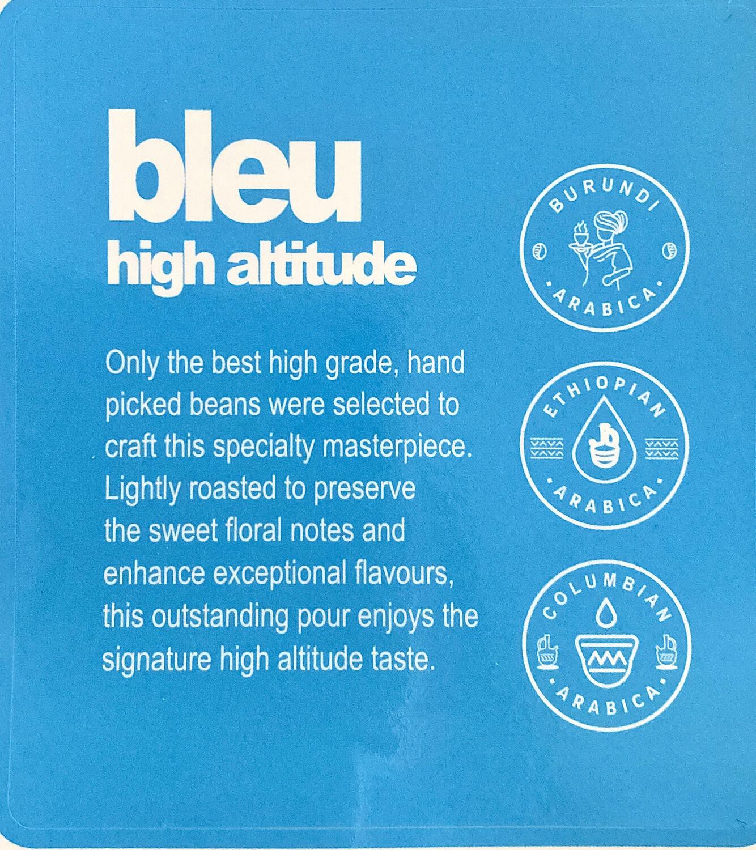 NOW AVAILABLE bleu high altitude