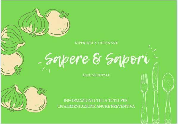 Video Corso SAPERE E SAPORI +  nutrizione e ricette