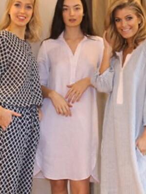 Linnen kleed Riani
