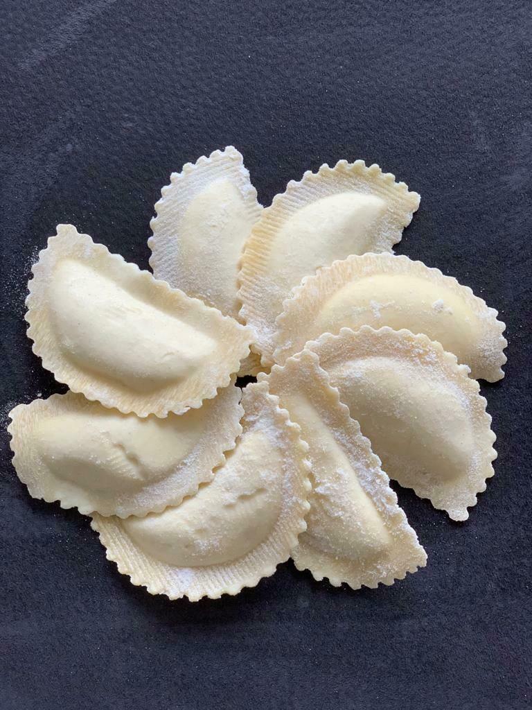 Fresh Ravioli al Tartufo 1kg (vegetarian durum wheat)