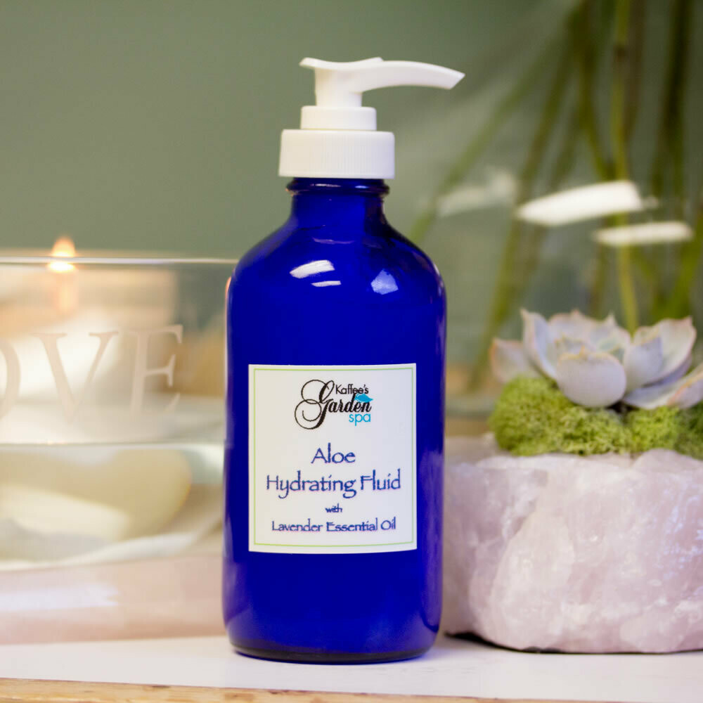 Aloe Hydrating Fluid with Lavender