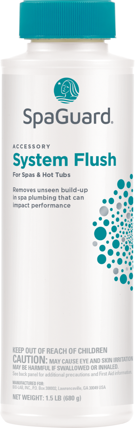 Spa System Flush  24 oz.