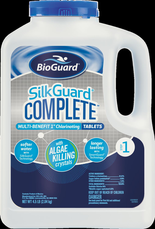 "SilkGuard Complete 1"" Tablets 4.5 lbs."