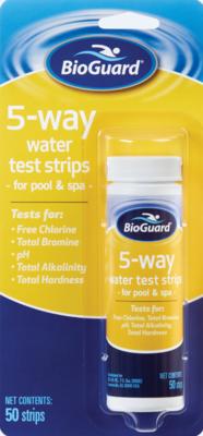 5-Way Test Strips -50 strips/btl
