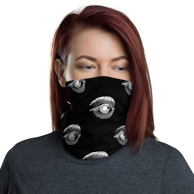 The Austin Séance Evil Eyeball Neck Gaiter