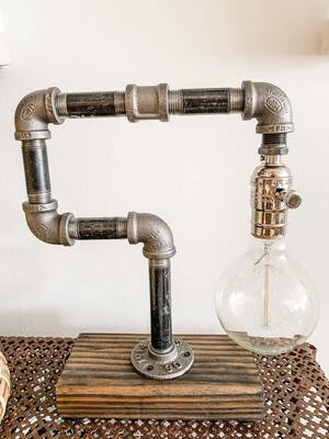 Single Bulb Industrial Lamp