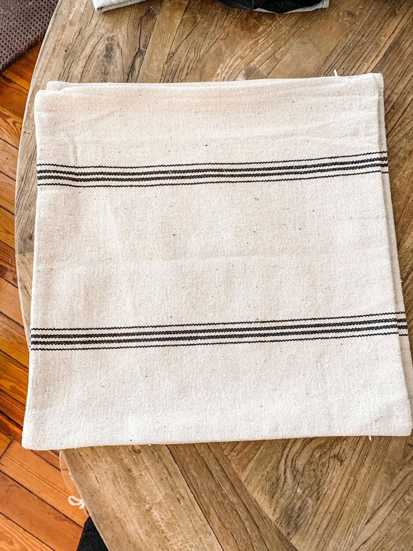 Grain Sack Pillow Cover