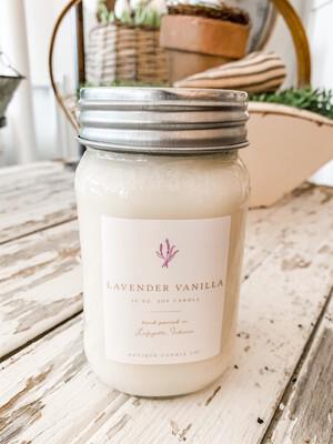 Antique Candle Co-Lavender Vanilla
