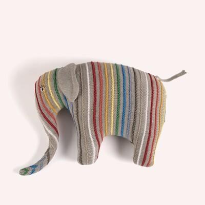 Peluche pour enfant - Éléphant coloré