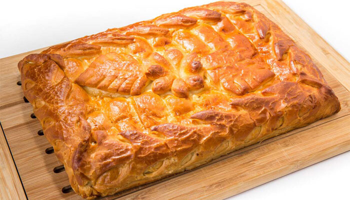 Пирог с мясом1 кг (предзаказ)
