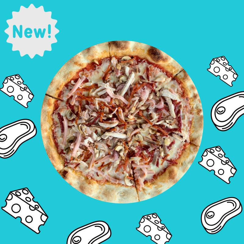 NEW! Пицца