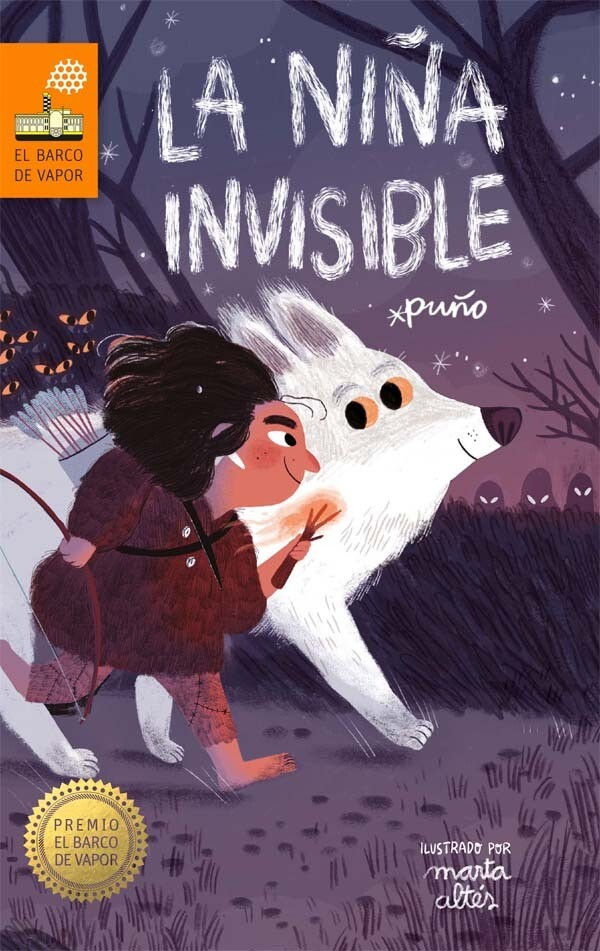 QUINTO - LA NIÑA INVISIBLE - SM - ISBN 9788491076841