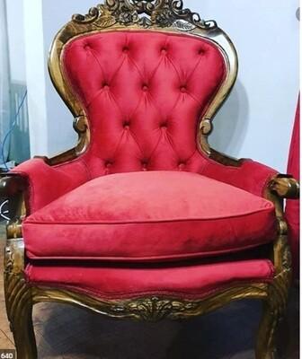 Sitial y sillas de estilo