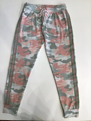 Camouflage Sport Stripe Banded Pant