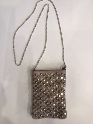 Pearl And Jewel Studded Pouch