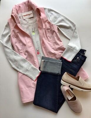 Cinch waist vest