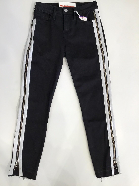 Full Zipper Side Skinny Jean