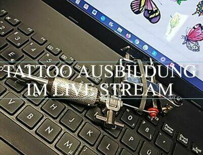 Tattoo Ausbildung im Live Stream, Anzahlung