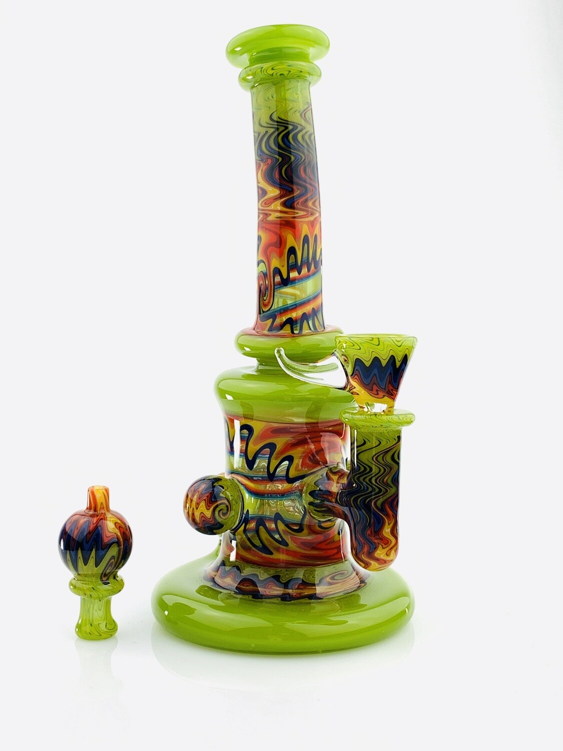Andy G Layered Tube With Slide & Bubble Cap