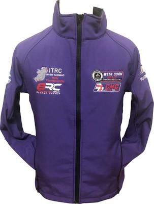 West Cork International Rally Ladies Soft Shell Purple