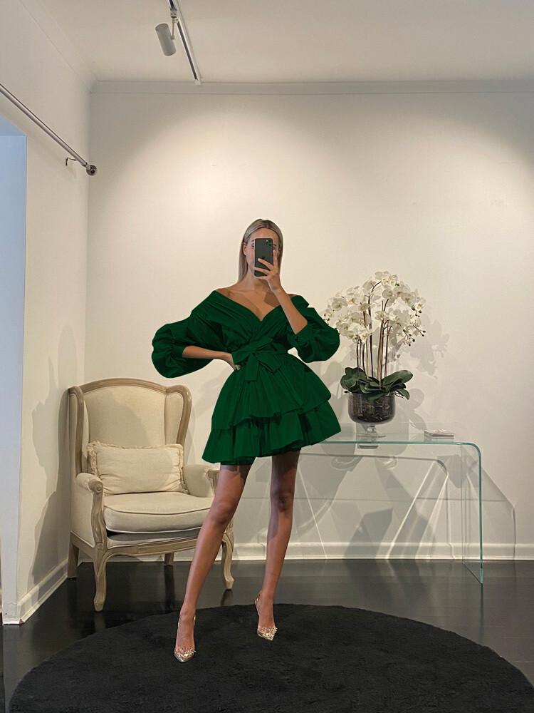 Chloe Dress émeraude