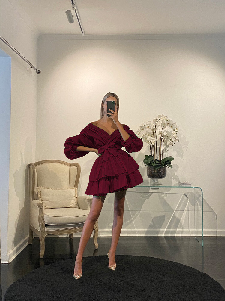 Chloe Dress Prune