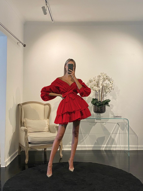 Chloe Dress Rouge