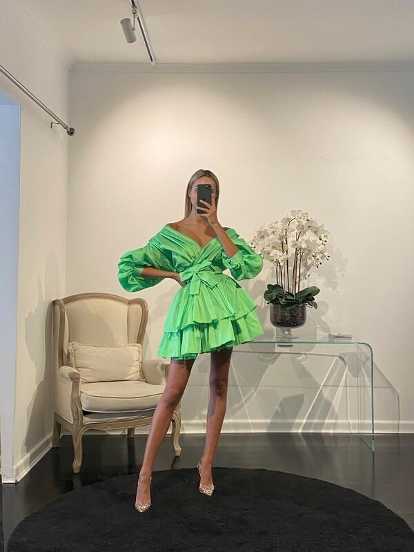 Chloe Dress Lime