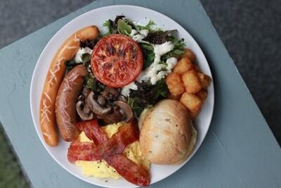 Sir Antonio's Mega Breakfast by The Tiramisu Hero