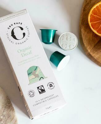 CRU KAFE Organic Decaf Capsules