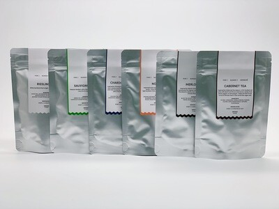 A.muse Wine Inspired Tea Tasting Pack (6 varieties x 10g Packs)