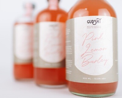 Pink Lemon Barley by The Refinery x Gudsht