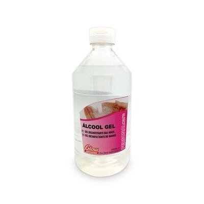 Gel Alcoólico 500ml Glow