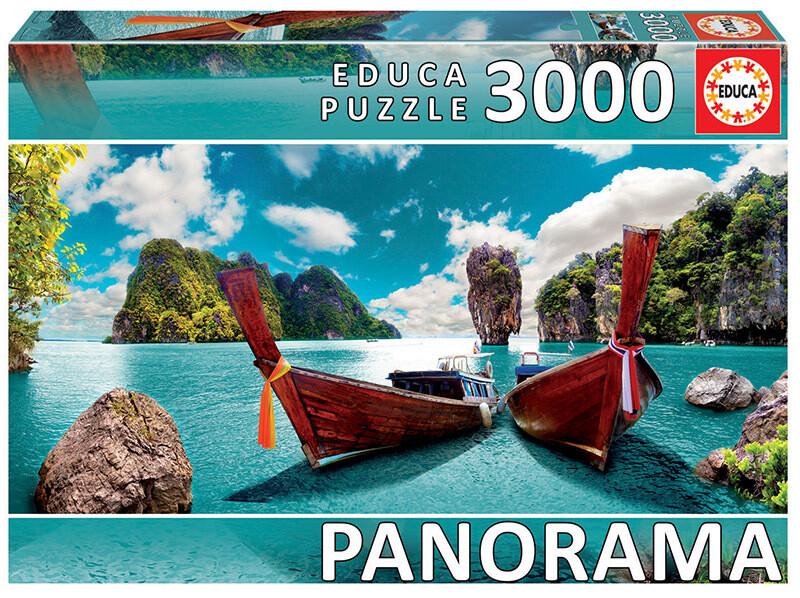 PUZZLE 3000PCS PHUKET, TAILÂNDIA  - EDUCA