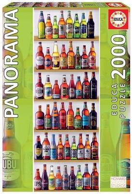 PUZZLE 2000PCS Cervejas do Mundo