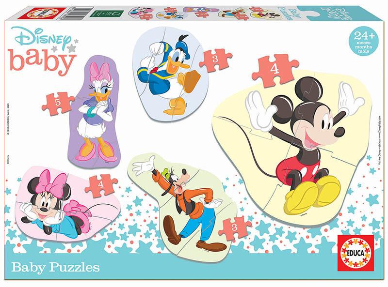 BABY PUZZLES MICKEY & FRIENDS - EDUCA