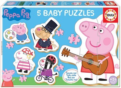 BABY PUZZLES PEPPA PIG 2 18589