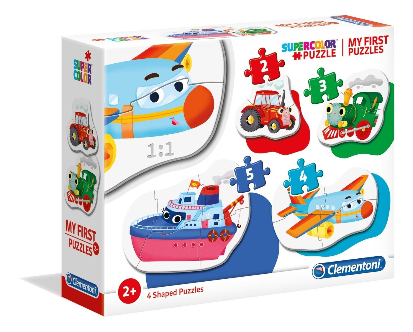 PUZZLE TRANSPORTES (Meu 1º Puzzle) - CLEMENTONI
