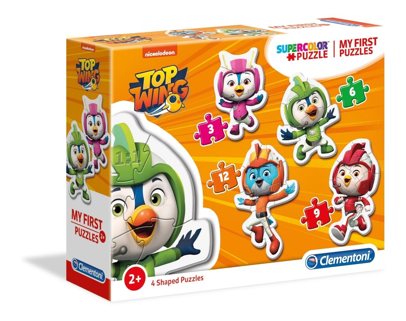 PUZZLE TOP WING (Meu 1º Puzzle) - CLEMENTONI